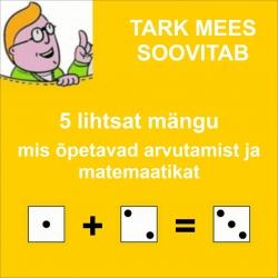 5 matemaatika/arvutamise-teemalist mängu